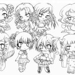 Chibi Coloring Pages to Print for Kids   Q1CIN