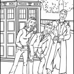 Doctor Who Coloring Pages Online Printable   B6QSA