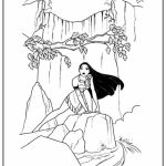 Easy Preschool Printable of Pocahontas Coloring Pages   R38YZ