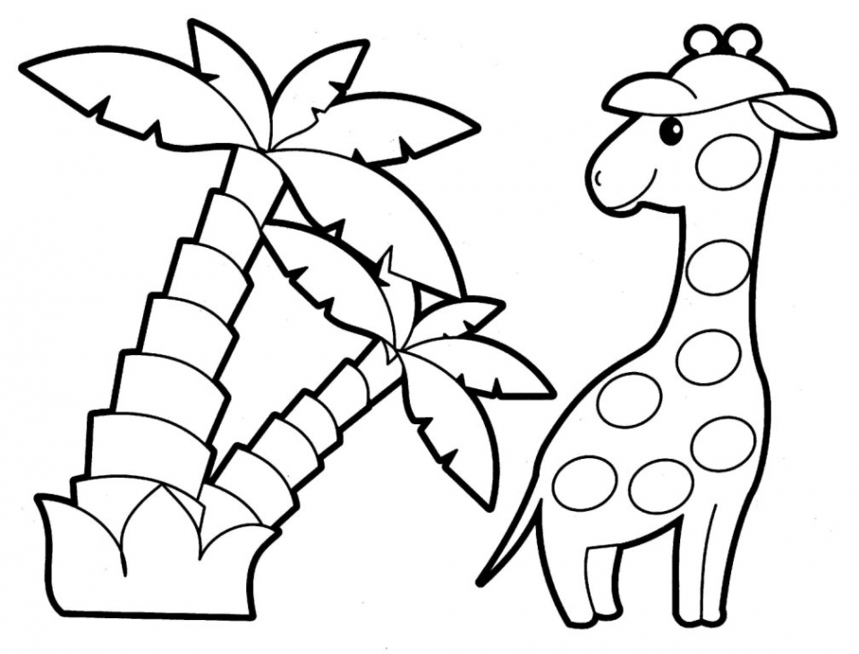 get this easy printable animals coloring pages for children 7u4lh