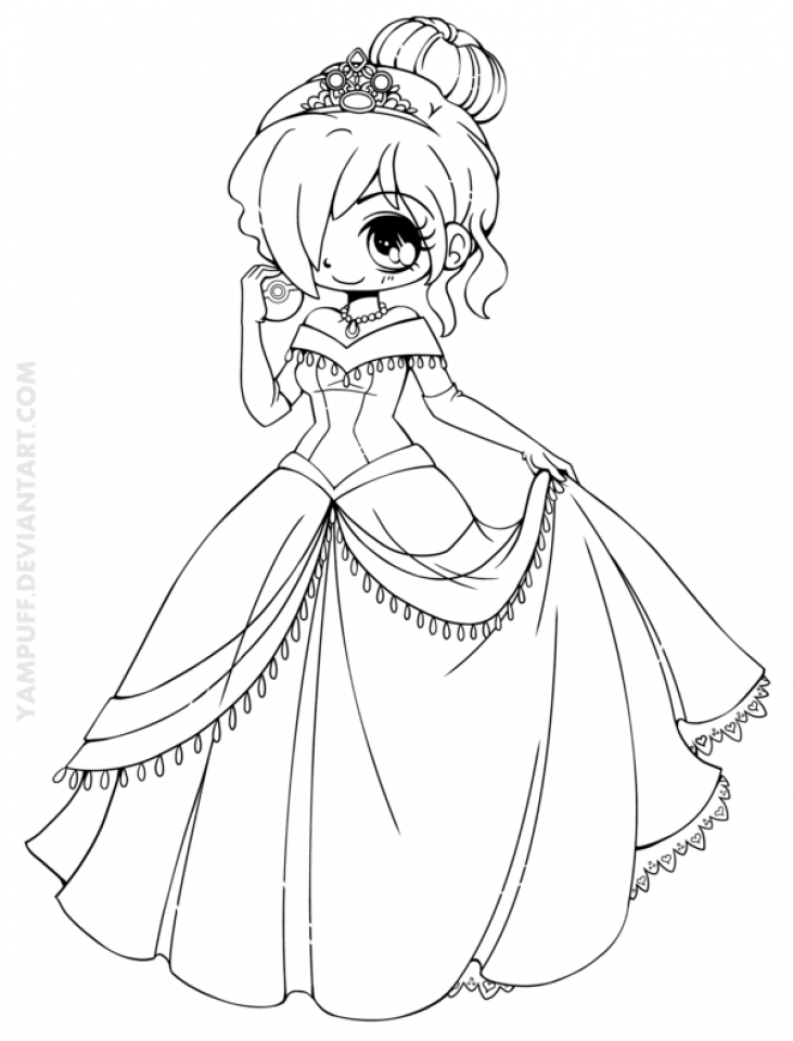Free Printable Chibi Coloring Pages for Kids   HAKT6