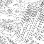 Free Printable Doctor Who Coloring Pages for Kids   HAKT6