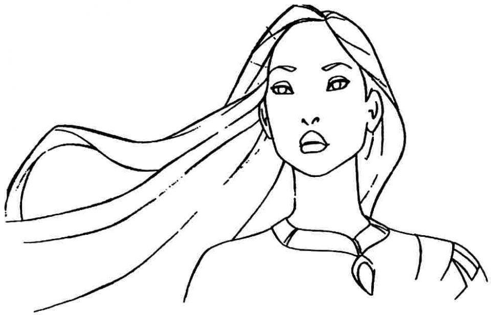Get This Free Printable Pocahontas Coloring Pages For Kids Hakt6