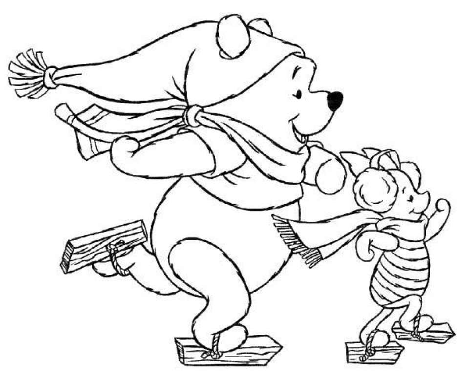 Get This Kids Printable Disney Christmas Coloring Pages Free Online