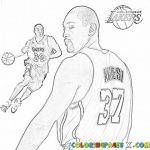 Kids' Printable NBA Coloring Pages Free Online   G1O1Z