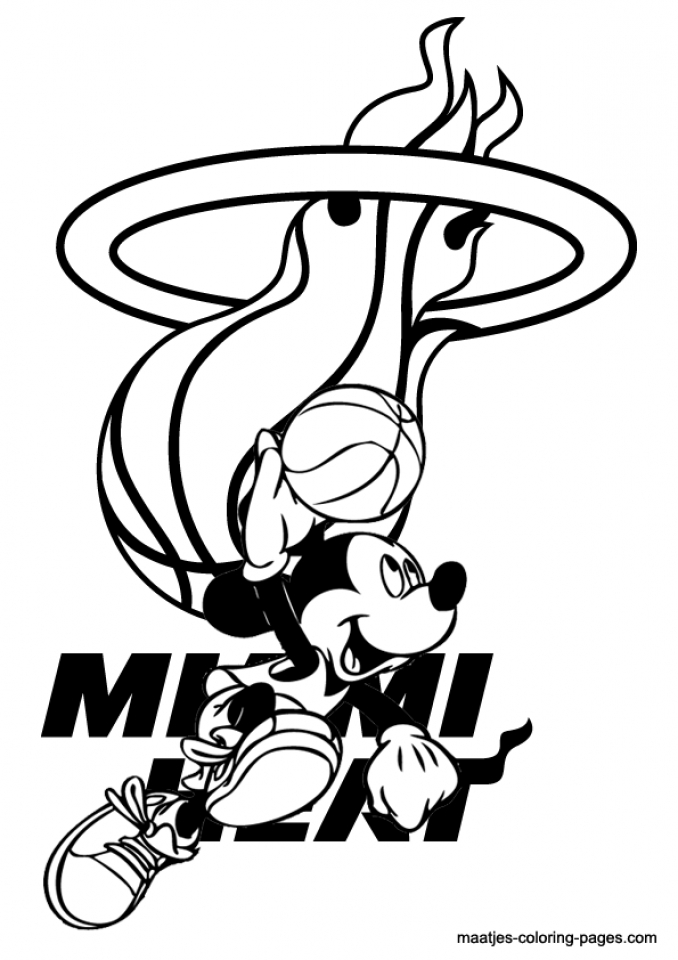 20 Free Printable Nba Coloring Pages Everfreecoloring Com
