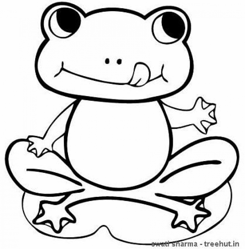 free printable frog coloring pages 20 free printable frog coloring pages