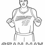 Online Printable NBA Coloring Pages   4G45S
