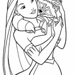 Pocahontas Coloring Pages Free for Kids   IX63T