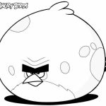 Angry Bird Coloring Pages Free to Print   JU7zm