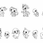 Baby Animal Coloring Pages Free Printable   9466