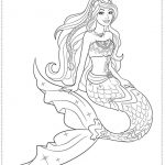 Barbie Coloring Pages for Toddlers   dl53x
