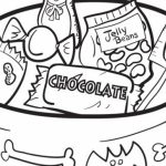Candy Coloring Pages to Print for Kids   aiwkr