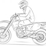 Children's Printable Dirt Bike Coloring Pages   5te3k