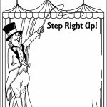 Circus Coloring Pages Free Printable   51582