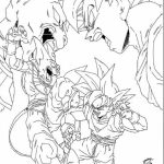 DBZ Coloring Pages Free Printable   66396