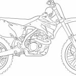 Easy Dirt Bike Coloring Pages for Preschoolers   9iz28