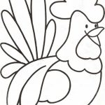 Easy Farm Animal Coloring Pages for Preschoolers   9iz28