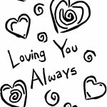 Easy I Love You Coloring Pages for Preschoolers   9iz28