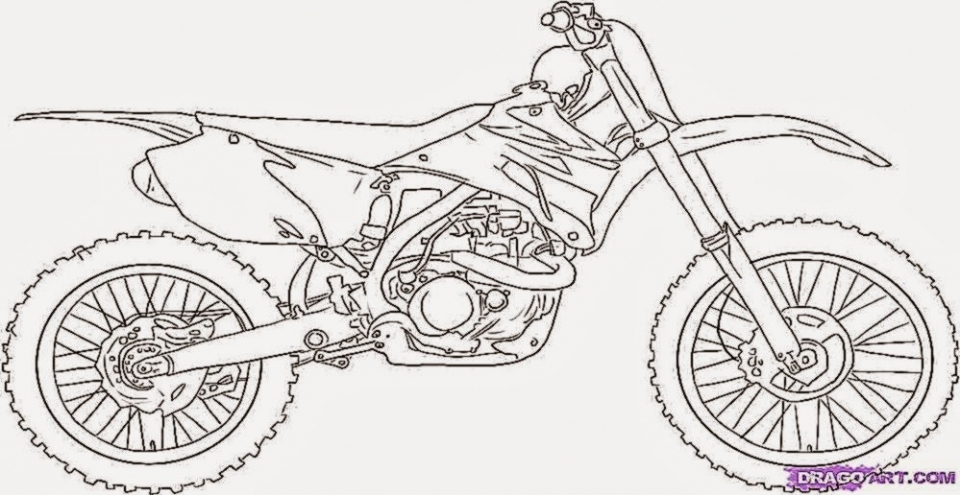 Bike Coloring Pages Print