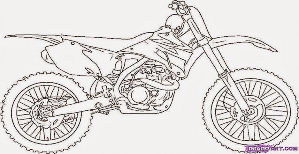 get this easy preschool printable of dirt bike coloring pages qov5f ! - Dirt Bike Coloring Pages Print