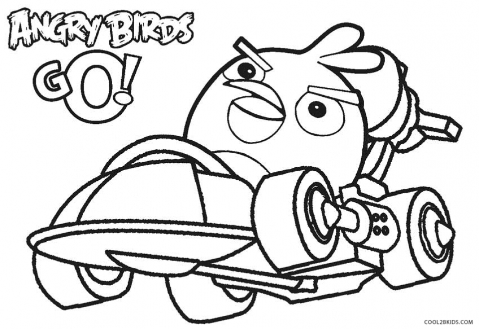 Easy Printable Angry Bird Coloring Pages for Children   PTyqX