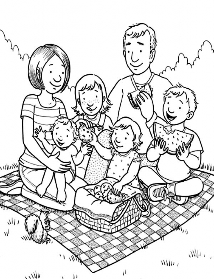 Stunning Family Coloring Pages Ideas New Printable Coloring