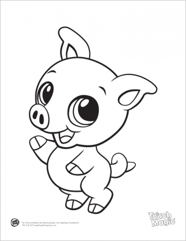 Free Printable Coloring Pages Baby Animals : Get this free baby animal coloring pages