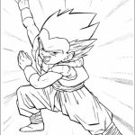 Free DBZ Coloring Pages to Print   16629