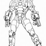 Free Ironman Coloring Pages   4488