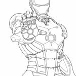 Free Ironman Coloring Pages   92377