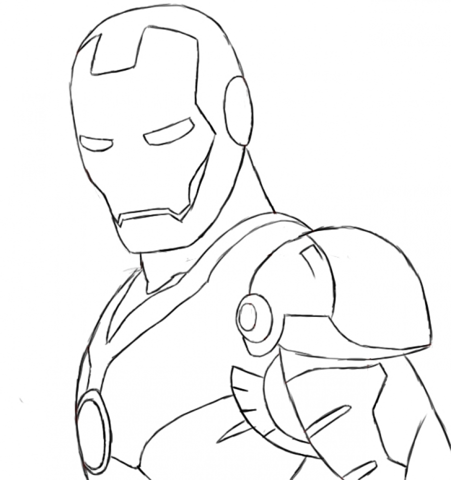free ironman coloring pages to print 18251