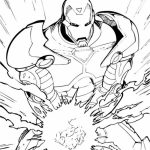 Free Ironman Coloring Pages to Print   92377