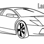 Free Lamborghini Coloring Pages   4488