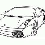 Free Lamborghini Coloring Pages to Print   92377