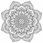 Free Mandala Coloring Pages For Adults   42893