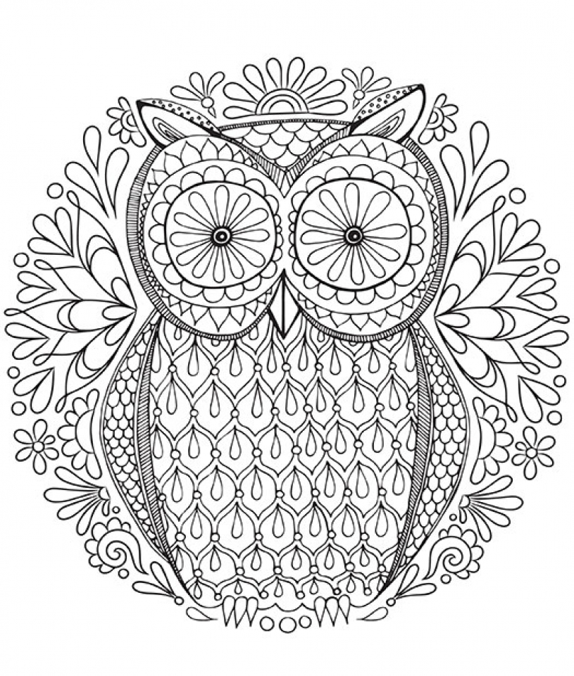 20 free printable mandala coloring pages for adults for Adult coloring pages mandala