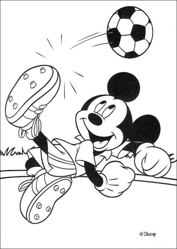 Free Mickey Coloring Pages to Print   26021