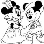 Free Mickey Mouse Coloring Page   75908
