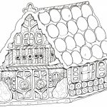Free Picture of Gingerbread House Coloring Pages   mbYjg