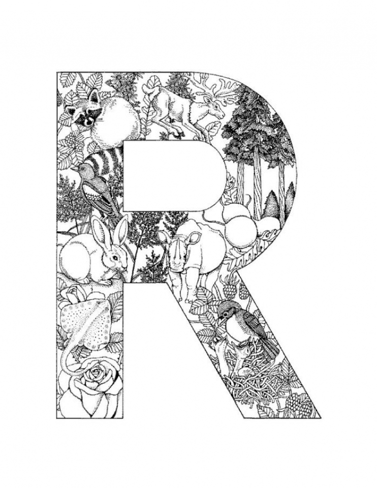 Get This Free Preschool Letter Coloring Pages to Print OLoEv