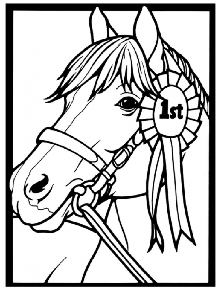 Beautiful Free Horse Coloring Pages Pictures New Printable