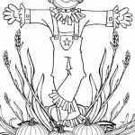 Free Scarecrow Coloring Pages for Toddlers   vnSpN