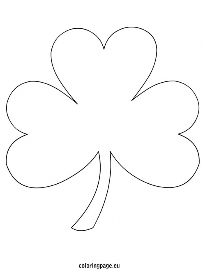 Get This Free Shamrock Coloring Pages for Kids yy6l0