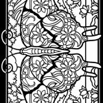 Free Stained Glass Coloring Pages   17248