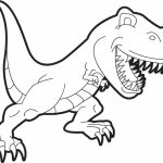 Free T Rex Coloring Pages   75908