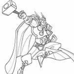 Free Thor Coloring Pages to Print   39122