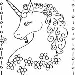 Free Unicorn Coloring Pages to Print   39122