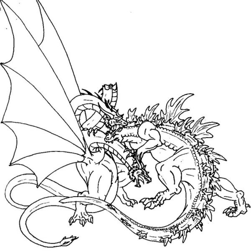 get this godzilla coloring pages to print online k0x5s ! - Printable Godzilla Coloring Pages