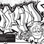 Graffiti Coloring Pages Free Printable   42032